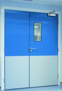 двери рентгенозащитные